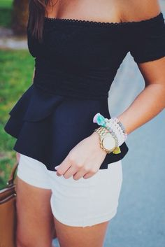 Navy + White | Cute Summer Outfit Ideas for Teen Girls