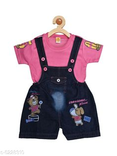 Oneseis & Rompers Prity Girls Jumpsuit   Cotton  Printed Fabric: Cotton Sleeve Length: Short Sleeves Pattern: Printed Multipack: 1 Sizes:  18-24 Months (Bust Size: 21 in Length Size: 17 in Waist Size: 20 in)  6-12 Months (Bust Size: 19 in Length Size: 15 in Waist Size: 16 in)  12-18 Months (Bust Size: 20 in Length Size: 16 in Waist Size: 18 in) Country of Origin: India Sizes Available: 3-6 Months, 6-9 Months, 6-12 Months, 9-12 Months, 12-18 Months, 18-24 Months, 1-2 Years *Proof of Safe Delivery! Click to know on Safety Standards of Delivery Partners- https://ltl.sh/y_nZrAV3  Catalog Rating: ★4.2 (4582)  Catalog Name: Tinkle Funky Kids Girls rompers CatalogID_774247 C59-SC1184 Code: 833-5228310-