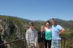 day trip up to the amazing french canyons