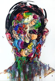 """Saatchi Online Artist: KwangHo Shin; Oil, 2013, Painting """"[127] untitled oil & acrylic on canvas 116.8 x 80.5 cm 2013[Exhibition]"""""""