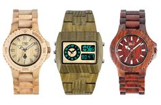 wood watches :) awesome!!