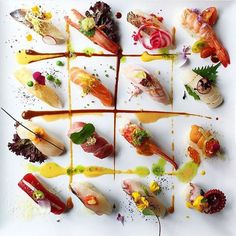 How about this by @chefjohn #TheArtOfPlating