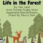 This is a 84 page companion pack to Scott Foresman's Reading Street story, Life in the Forest. Each activity focuses on the weekly skill, High Freq...