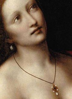 GIAMPIETRINO | La morte di Cleopatra, dettaglio (1524-26). Bucknell University Art Gallery