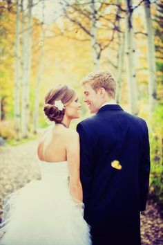 Like her hair & this pic colorado wedding pic can't wait!