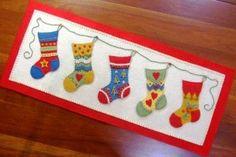 manualidades de navidad en paño lenci - Buscar con Google