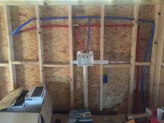 Replacing mobile home plumbing