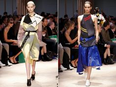 celine spring summer 2014 colorful prints and textures
