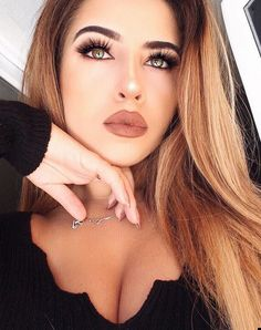 ღ sαℓσмé ∂єsєrτ ღ Beautiful Eyelashes, Clear Eyes, Mixed Babies, Septum Ring, Makeup Looks, Fashion, Face, La Mode, Photoshoot