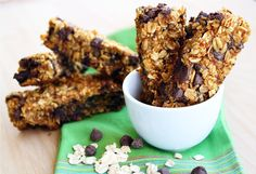 The Comfort of Cooking » Pumpkin Chocolate Chip Granola Bars