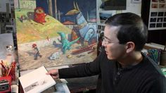 Shaun Tan talks about Rules of Summer - The Origins and Ideas