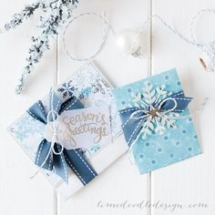 Gift Card Holders created by Debby Hughes using the January 2015 card kit by Simon Says Stamp