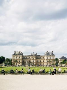 PARIS - The Jardin du Luxembourg is one of the best places to read a book, eat a baguette with beurre et saucisson (butter and salami) and people watch! Next to the Louvre Museum and all that.