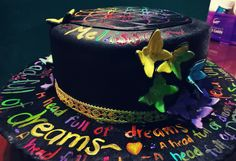 Coldplay fondant cake