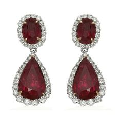 Nothing says status as the rich beauty of natural red rubies and diamonds. Maurice Badler Fine Jewelry, 485 Park Ave (bet. 58th-59th St) or online at www.badler.com or call us at 800-622-3537
