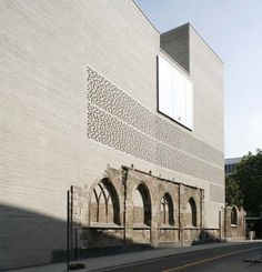 Kolumba Museum by Peter Zumthor, Köln, Germany. Great intervention! Visited in Dec. 2012.
