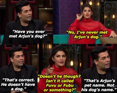 "When this utterly nonsense conversation went down. 14 Hilarious Moments From Sidharth Malhotra And Jacqueline Fernandez's ""Koffee With Karan"" Episode Best Love Proposal, Proposal Videos, Koffee With Karan, Lol Text, Desi Humor, Romantic Status, Girl Thinking, World Of Books, Jacqueline Fernandez"