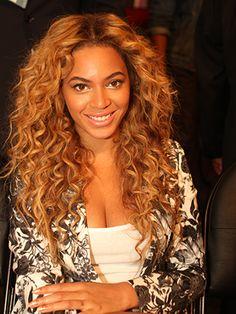 Beyonce's Major Curls