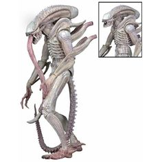 Aliens Albino Alien Concept 7-Inch Scale Series 9 Action Figure