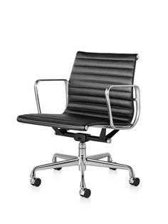 eames aluminum management chair replica leather occasional chairs aluminium group style office pinterest styles and george nelson