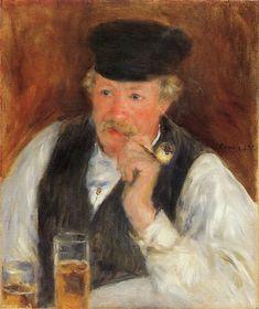 Pierre-Auguste Renoir - Monsieur Fournaise, 1875
