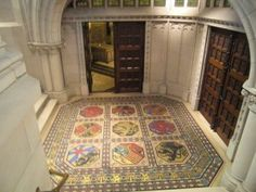 Belgium has been a kingdom since 1831. All of the monarchs have been buried at the neo-gothic Church of Our Lady in Laeken, Brussels. The church was built in memory of Queen Louise-Marie, wife of Belgium's first king Leopold I.Entrance to the royal crypt, Photo Credit – Susan Flantzer