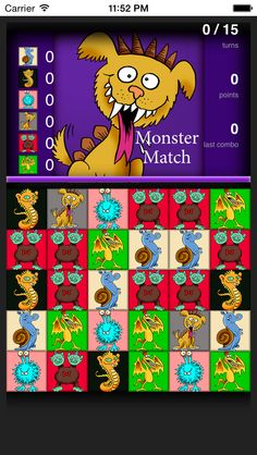App Shopper: Monster Match 3 Game (Games)