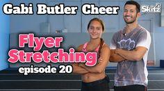 Flyer stretching video. Gabi Butler Cheer.
