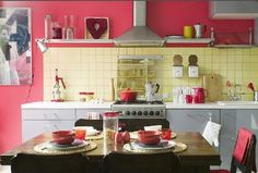 218 Best Pink Kitchen Images Kitchen Kitchen Design
