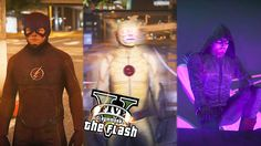 GTA 5 PC - The Flash & Arrow VS Reverse Flash ! And Dodging Bullets ! (Ultimate Flash Mod) - Video --> http://www.comics2film.com/gta-5-pc-the-flash-arrow-vs-reverse-flash-and-dodging-bullets-ultimate-flash-mod/  #TheFlash