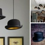 Hats Off to the Bowler Hat Pendant Light - DIY Inspiration