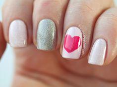 + Carolina Estilo +: Looks para San Valentín: Parte I: Uñas / Nail Art