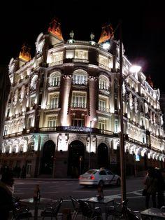 Edificio Plus Ultra de Madrid.