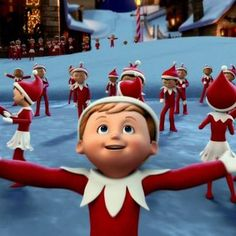 When I don't live with Anyssa, I live at the North Pole.