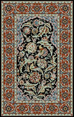 silk prayer carpet