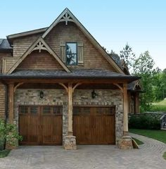 1000 images about garage doors on pinterest garage for French country garage doors