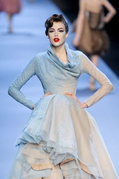 Christian Dior at Couture Spring 2011Source: ImaxTree