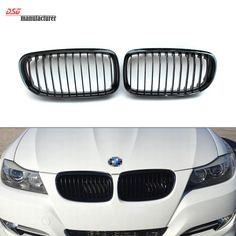E90 LCI black front bumper grill for BMW 2008 2009 2010 2011 3 Series sedan & E91 tourer 316d 320d 323i 325d 325i 328i 330i 335i