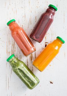 5 sucos (poderosos!) para limpar organismo e desinchar