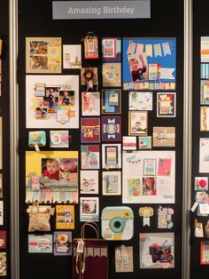 2014 Inspire, Create, Share Convention - Stamping Addiction: Display Boards - Convention Stamp Sets - Kinda Eclectic, Amazing Birthday, Seasonally Scattered & Project Life.