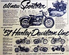 Good ol' Sportsters. - repined by #MotorcycleHouse