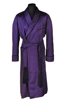Sleepwear & Robes Honest Black Wool Full Length Housecoat Medium Robe Front Pockets Long Sleeve Duster