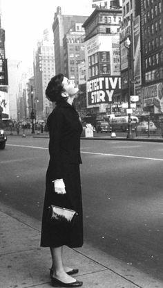 Audrey Hepburn in NYC.