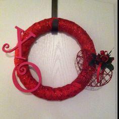Valentine's Day Wreath <3