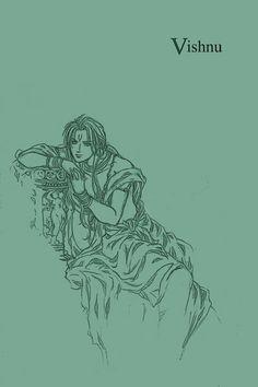 Trimurti:Vishnu by mmmmmr