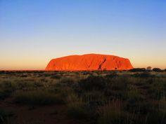 Uluru Sunset, Northern Territory, Australia, breathtaking