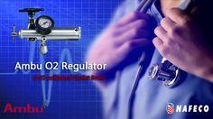 Ambu O2 Regulator, 0-25 w/Barbed Outlet Brass: Ambu Oxygen Regulators are designed to deliver precise pressure regulation of oxygen for medium-flow applications such as resuscitators.