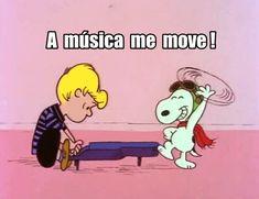 A música me move! Vamos dançar!!