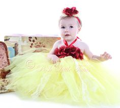 Belle Of The Ball Lavish Couture Girls Tutu Dress