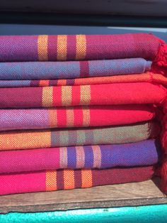 Lena Losciale. Hamam towels. Walk in beauty.